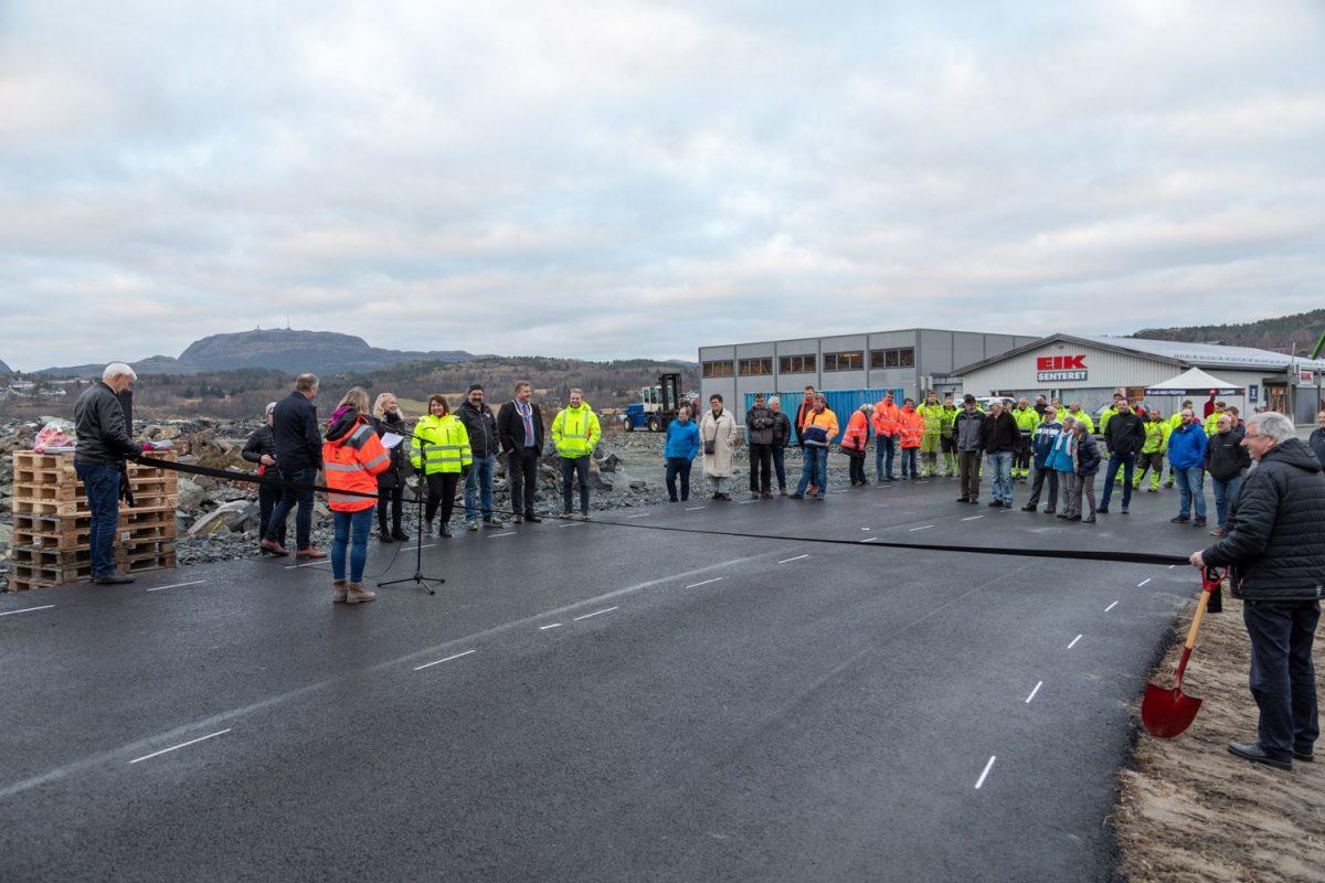 Fosenvegene veiåpning Brekstad-Krinsvatn 22-11-18