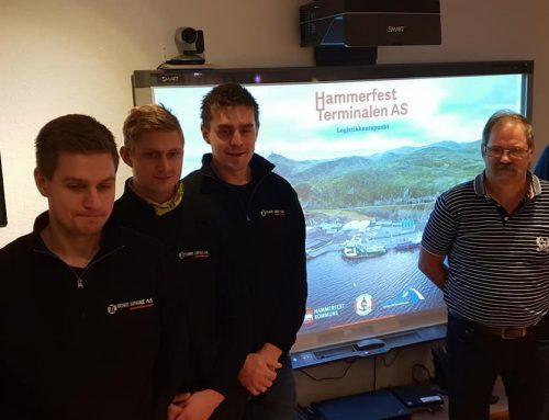 Kontrakt med Hammerfest Havn KF
