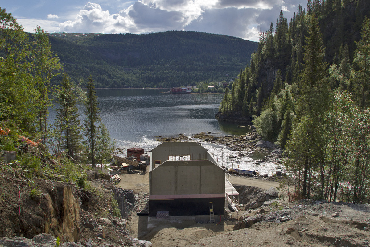 Skravlåga kraftverk 2012