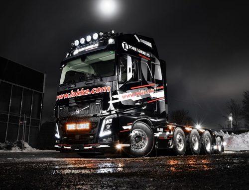 Nytt dekorsett på Volvo FH16 750 10X4